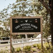 The Woods Farm Logo
