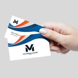 MV Marine Business Cards