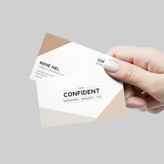 Made Confident business cards