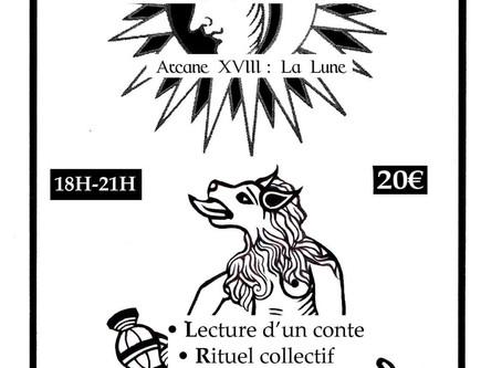 """Un nouvel atelier """"Tarot & Spiritualité"""" autour de la Lune!"""