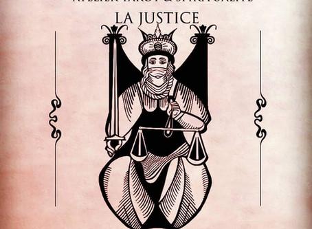 Tarot et Spiritualité:LA JUSTICE