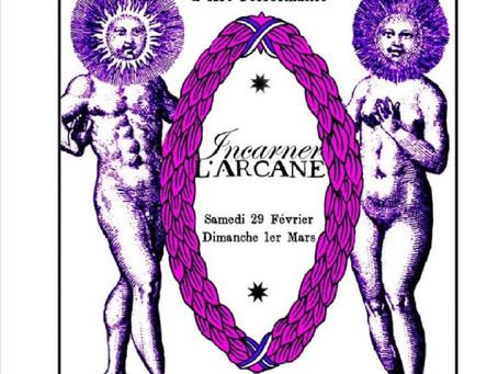 """Stage """"INCARNER L'ARCANE"""""""