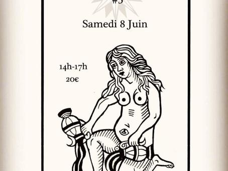"""Un nouvel atelier """"Tarot & Spiritualité"""" sur L'ARCANE 17, le samedi 8 juin à 14h!"""