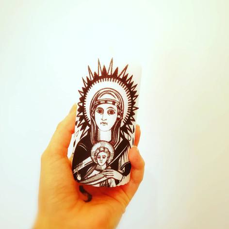 bougie de rituel