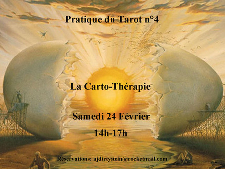 • Pratique du Tarot n°4: La Carto-thérapie