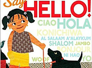 Say Hello board bookjpg