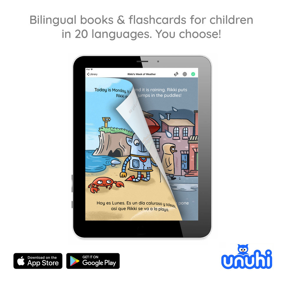 Unuhi is a new bilingual books app available on the App Store and Google Play