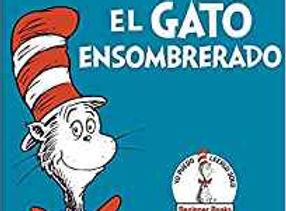 El Gato Ensombrerado Spanish board book.