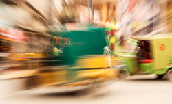 Rickhaw in motio