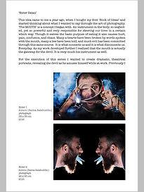 Enter satan, aimon  conceptual photography, exhibit, sanat gallery, karachi pakistan