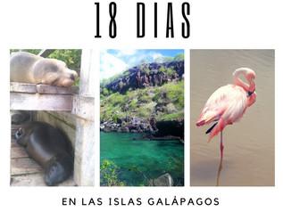18 Días en las Islas Galápagos