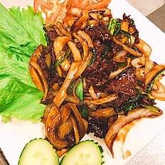 S7. Mongolian Saute Tenderol Beef