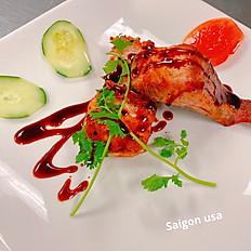 S23. Teriyaki Grilled Salmon