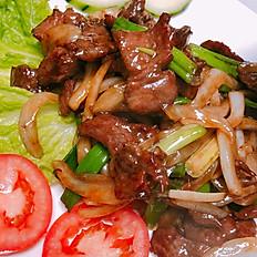 S6. Mongolian Style Tender Beef