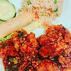 L13. Lunch General Sao Tofu