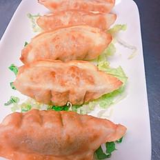 A6F. Pan Fried Pork Dumpling (5)
