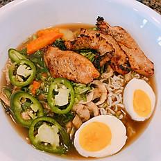 P12. Holi Holi Grilled Chicken Ramen Noodle Soup