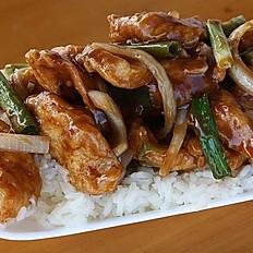L4C. Lunch Mongolian Chicken