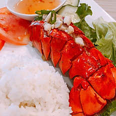 C6. Char Grill Lobster Rice Plate