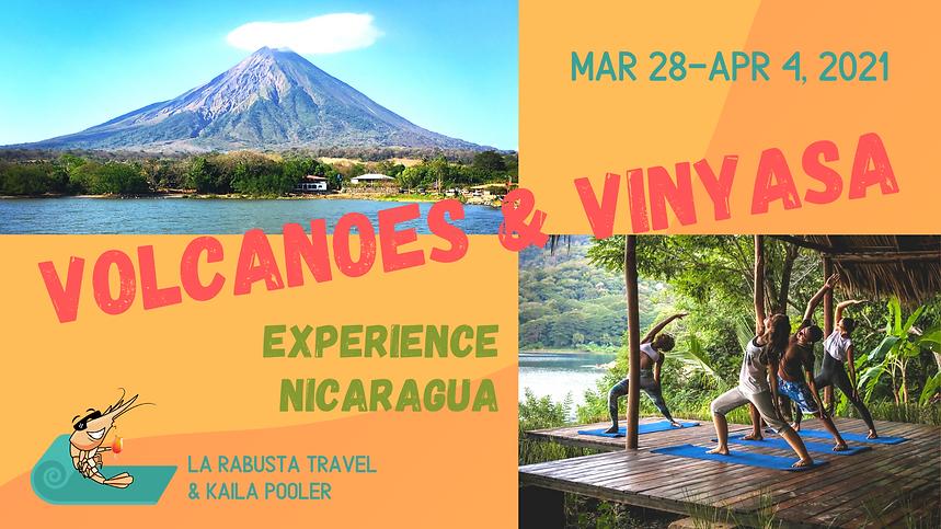 Nicaragua+Volcanoes+&+Vinyasa+Yoga+Retre