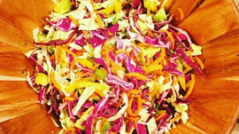 Recipe: Crunchy Slaw w/ Tangy Cilantro Dressing - Perfect for a 4th of July BBQ!
