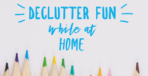 Decluttering Fun at Home