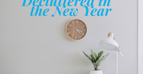 10 Things To Do Quickly to get Decluttered in the New Year!