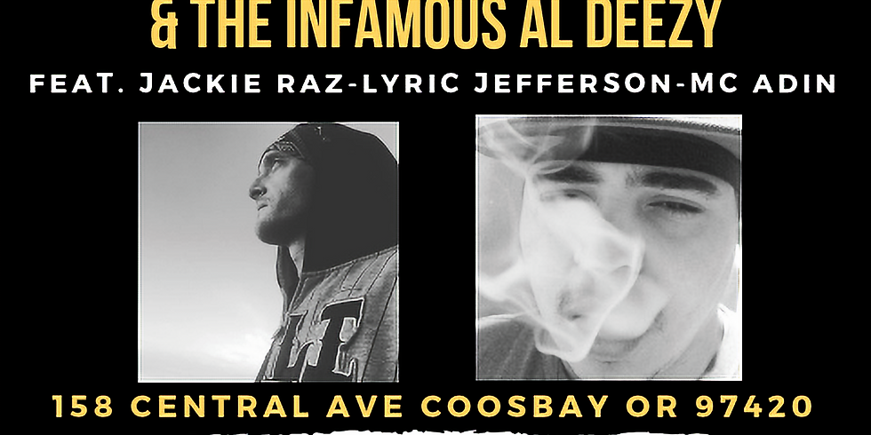 Elimino and The Infamous Al Deezy (live performance) fe Jackie Raz, Lyric Jefferson, MC Adin