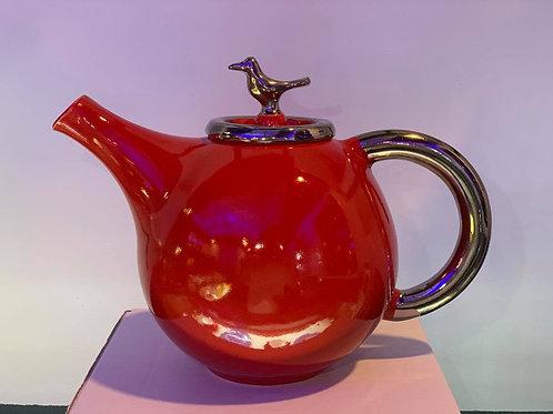 Tea Pot - Red