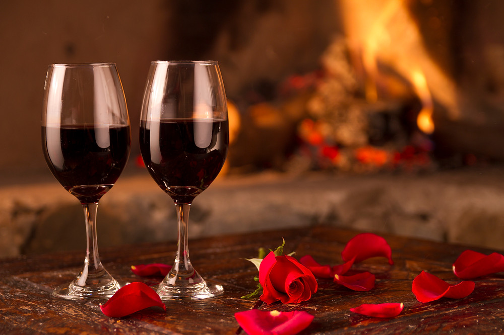 Valentine's Day Dinner for Two at Woodfiire Bar & Grille