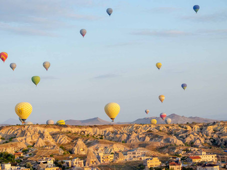 The City of Hot Air Balloon's; A guide to Cappadocia.