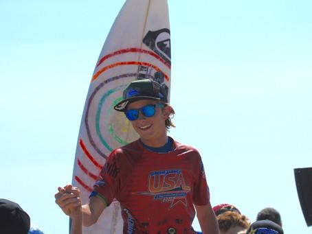 John Mel Wins U16 US Chapionship
