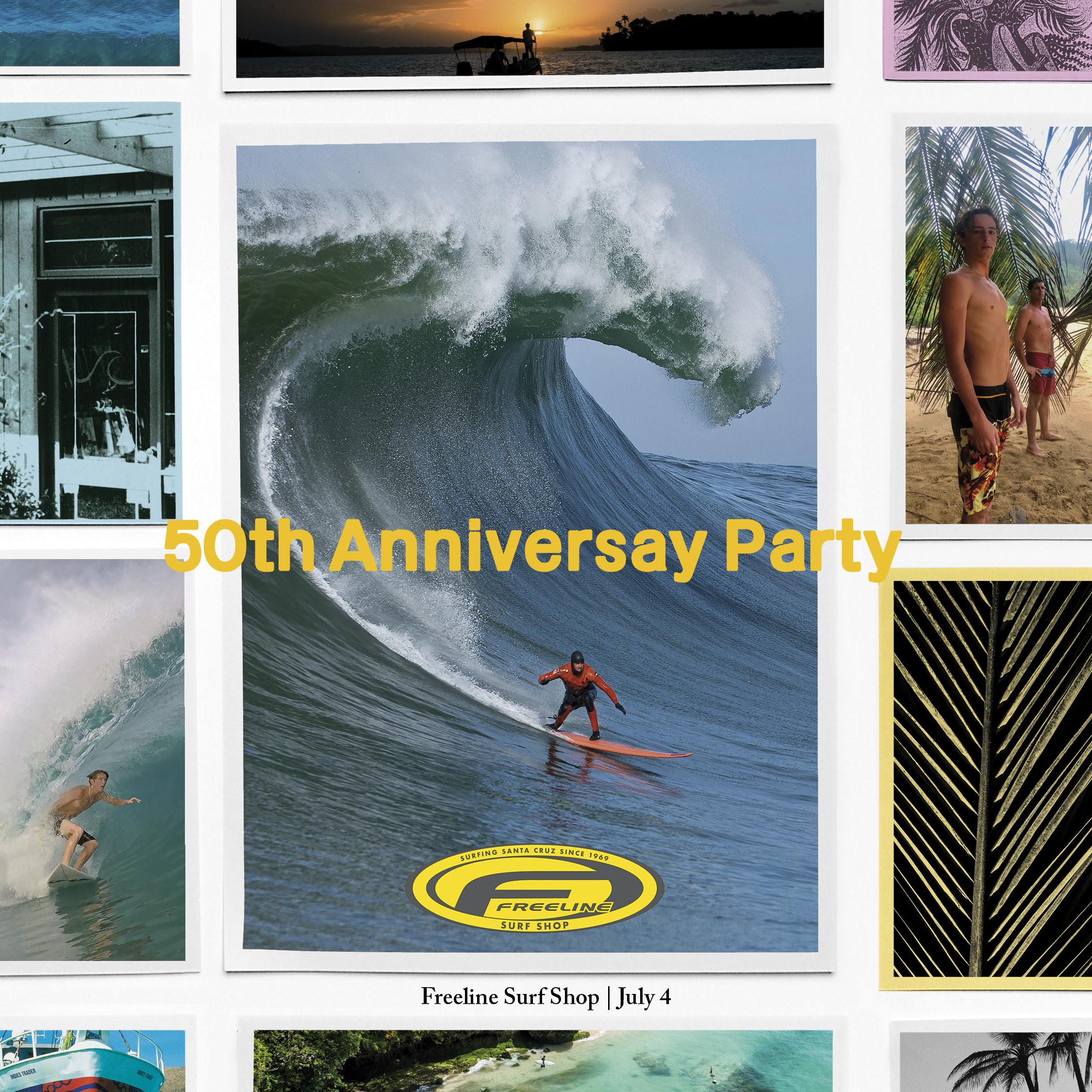 Freeline Anniversary Invite