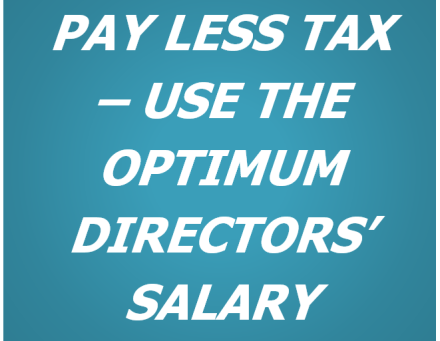 Optimum Directors' Salary and Dividends for 2021/22