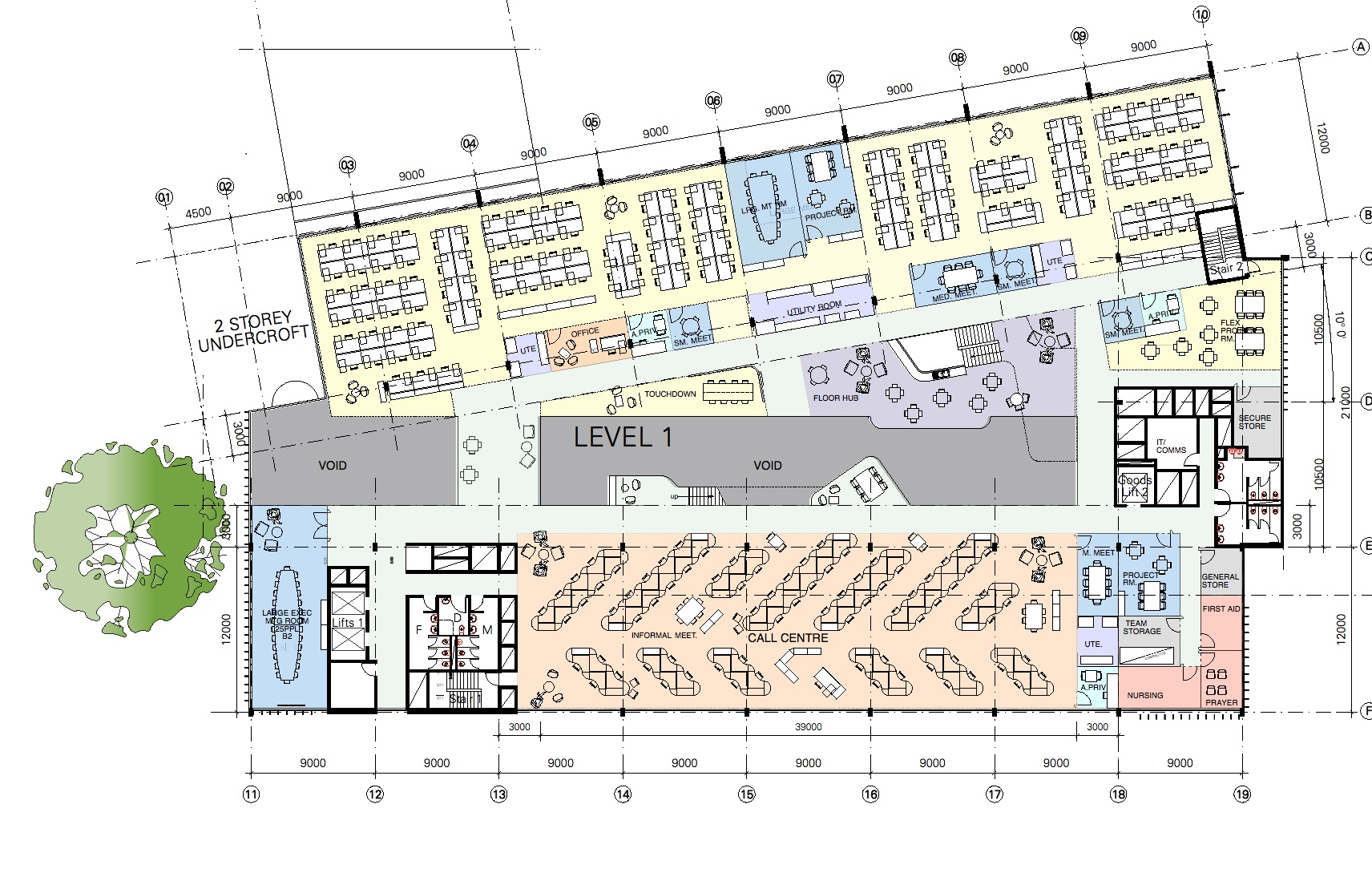 LEVEL 1 PLAN SMALL