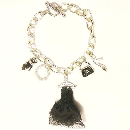 online natural gemstone jewelry, jewellery, bracelet, charm bracelet, Black, weather