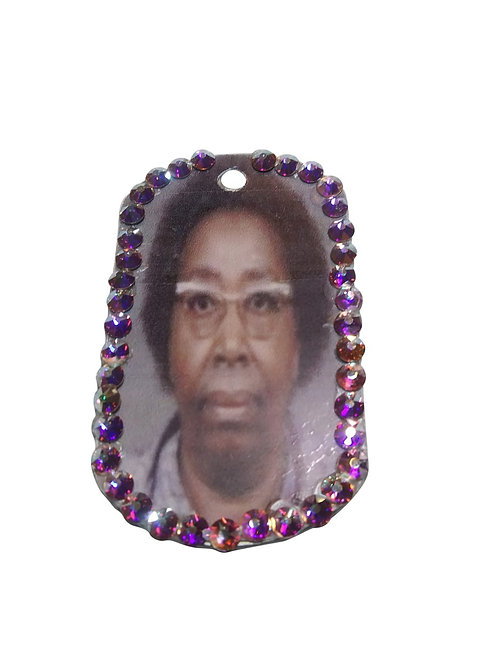 Bejeweled Personalized Dog Tags