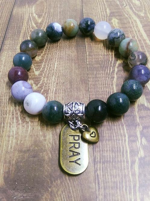 Charm Bracelet, Jewelry, Jewellery, Jewelry for Women, Stretch Cord
