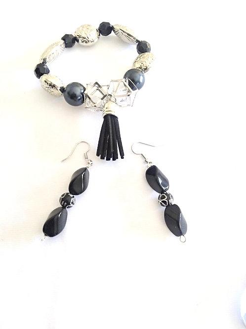 Jewelry for Women, Tassel Bracelet, Earrings, Jewellry