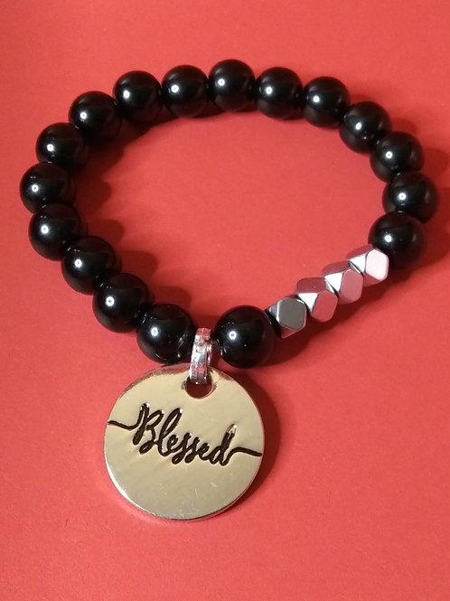 Jewelry for Women, Hematite, Bracelets, Stretch Bracelet, Jewelry,  Online Jewelry Sales, Blessed