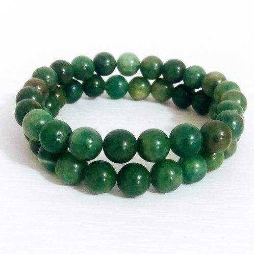 African Jade, Jade, Stack Bracelet, jewelry for women, jewelry for men, gender neutral jewelry, jewellery