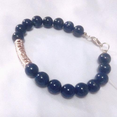 Jewelry for women, bracelet, lapis stone,