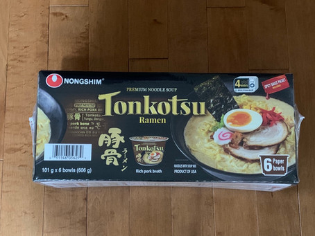Costco Tonkotsu Ramen Review