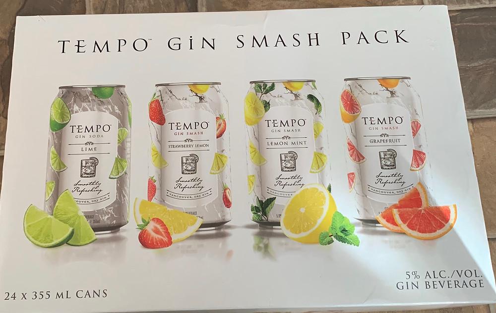 Costco Tempo Gin Smash Pack