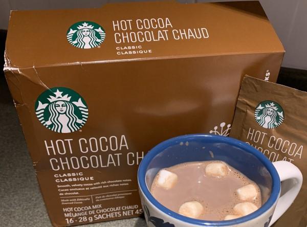Costco Starbucks Classic Hot Cocoa