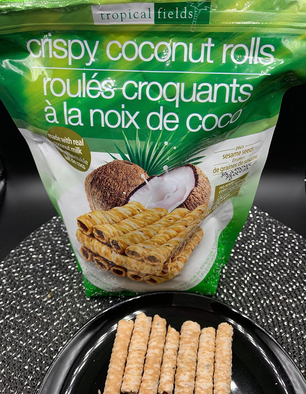 Costco Tropical Fields Crispy Coconut Rolls