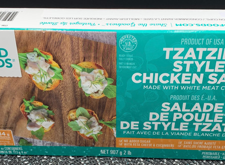 Costco Good Foods Tzatziki Style Chicken Salad Review