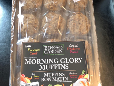 Costco Bread Garden Morning Glory Muffins Review