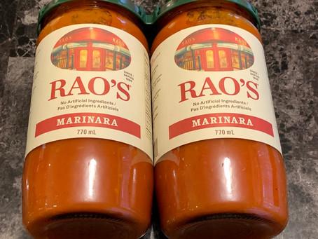 Costco Rao's Homemade Marinara Sauce Review