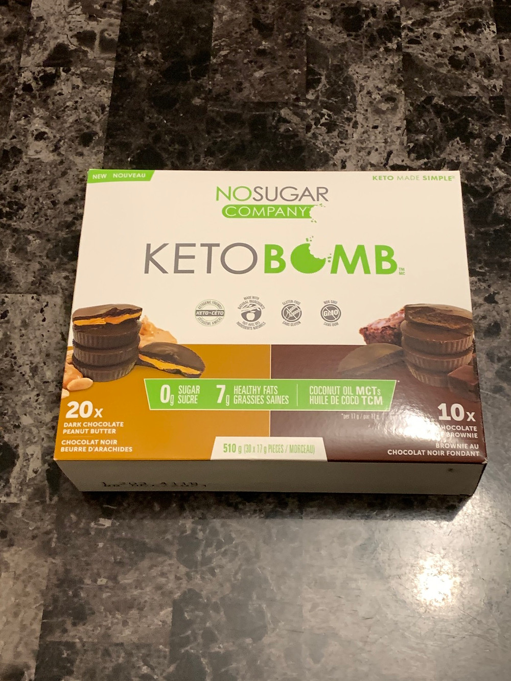 Costco No Sugar Company Keto Bomb